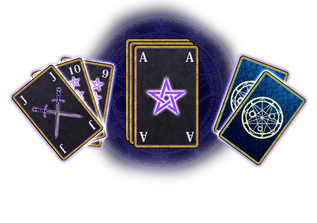 選んだカードに込められた魔術が、あなたの願いを後押しします